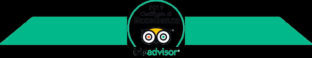 Il Mirto e La Rosa è stato premiato da TripAdvisor con il Certificato di Eccellenza 2019
